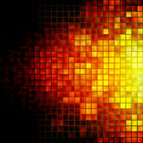 Abstract Explosion Mosaic Illustration Stock Image