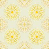 Abstract explosion pattern. Vintage color series. Minimal graphics Stock Photos