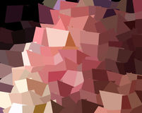 Abstract expressionism, fantastic grey and red pink precious stone background. Rose quartz. Royalty Free Stock Photography