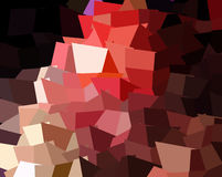 Abstract expressionism, fantastic grey and red pink precious stone background. Rose quartz. Stock Photography