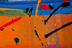 Abstract, Expressionism, Painting royalty free stock photo
