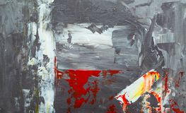 Abstract, Expressionism, Painting stock photo
