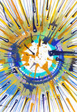 Abstract expressionism painting - Energy Stock Photography
