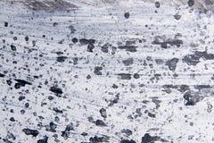 Abstract expressionismepatroon Stijl van druppel het schilderen Zwarte Stock Foto