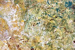 Abstract Expressionist Painted Background hand painted art. Abstract Expressionist hand painted Art on canvas macro colors and textures Stock Image