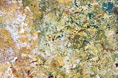 Abstract Expressionistisch Geschilderd hand geschilderd art. Als achtergrond Stock Afbeelding