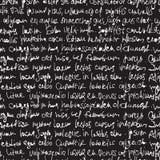 Abstract expressive handwriting Stock Image