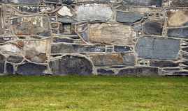 Abstract exterior stone structure Royalty Free Stock Photo
