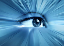 Abstract eye Royalty Free Stock Photos