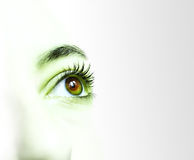 Abstract eye Stock Images