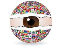 abstract eye Απεικόνιση αποθεμάτων