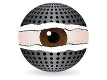 abstract eye Στοκ Εικόνες
