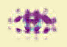 Abstract eye Royalty Free Stock Image