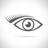 An abstract eye icon Royalty Free Stock Photo