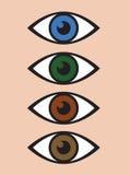 An abstract eye icon Stock Image