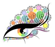 Abstract eye Royalty Free Stock Photo