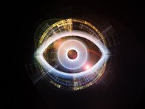 Abstract Eye Stock Photo