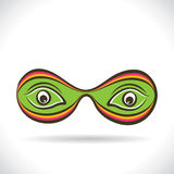 Abstract eye vector design Royalty Free Stock Image