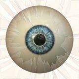 Abstract eyeball Stock Photo