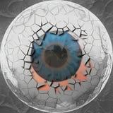 Abstract eyeball Royalty Free Stock Photography