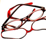 Abstract Eyeglass Background Design Royalty Free Stock Images