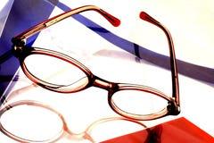 Abstract Eyeglass Background Design Stock Photos
