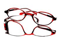 Abstract Eyeglass Background Design Stock Photo