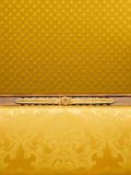 Abstract fabric background. Picture of an Abstract luxury fabric background Royalty Free Stock Image