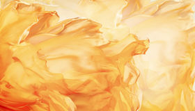 Abstract Fabric Flame Background, Artistic Waving Cloth Fractal. Pattern Stock Image