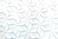 Abstract fabric flower Royalty Free Stock Photos