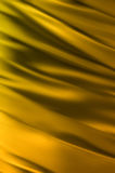 Abstract Fabric Folds  gold Stock Image
