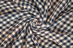 Abstract fabric texture background. Wallpaper of cotton fabric Stock Photos