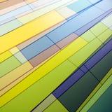 Abstract Facade. Abstract texture of a facade Stock Photography