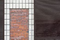 Abstract facade of the building Royalty Free Stock Images