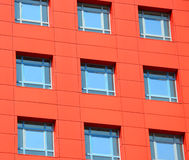 Abstract facade of a modern building Stock Image