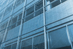 Abstract facade of modern office building Royalty Free Stock Images