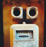 Abstract face Stock Image