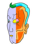 Abstract face Stock Photos