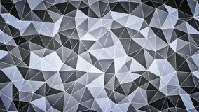 Abstract faceted background stock video