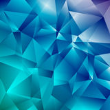 Abstract Faceted Geometric Shiny Background Royalty Free Stock Image