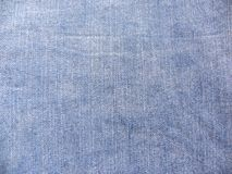 Abstract faded blue denim jeans texture background.  royalty free stock images