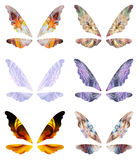 Abstract fairy wings Stock Photo