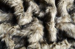Abstract fake fur background. Abstract fake wolf fur background stock images
