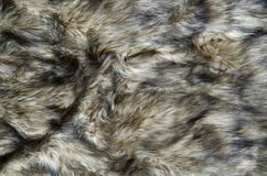 Abstract fake fur background. Abstract fake wolf fur background stock photography