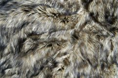 Abstract fake fur background. Abstract fake wolf fur background stock photos