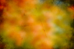 Abstract fall background. With scratches Stock Image