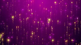 Abstract falling sparkle glamour rain background. Abstract falling sparkle rain glamor background for led screens. HD animation with particles. Motion background royalty free illustration