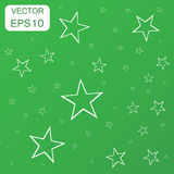 Abstract falling star icon. Business concept stars pictogram. Ve Royalty Free Stock Images