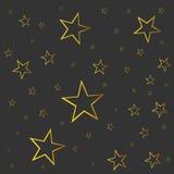 Abstract falling star vector. Royalty Free Stock Photo