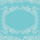 Abstract fancy background, decorative pattern frame Stock Images
